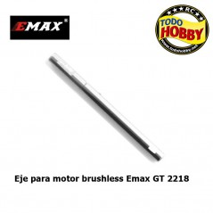 EJE MOTOR 4MM EMAX SERIE GT2218