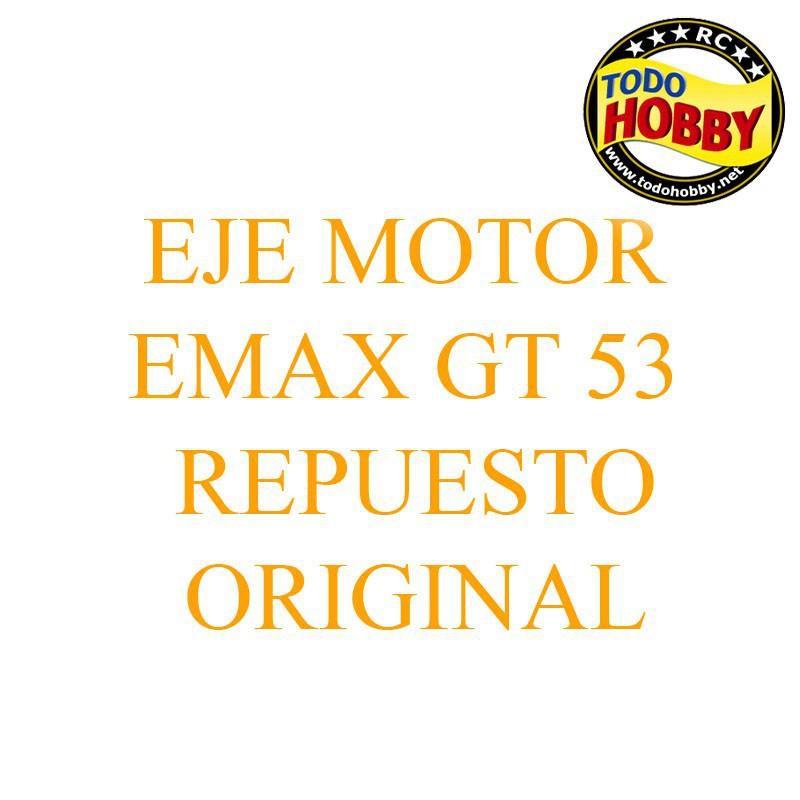 EJE MOTOR 8MM EMAX SERIE GT5345