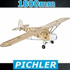 AVION EN KIT PIPER CUB J3 1800MM PICHLER