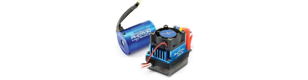 Electric motors & ESC