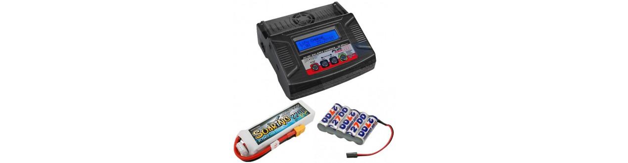 Baterias, cargadores y accesorios