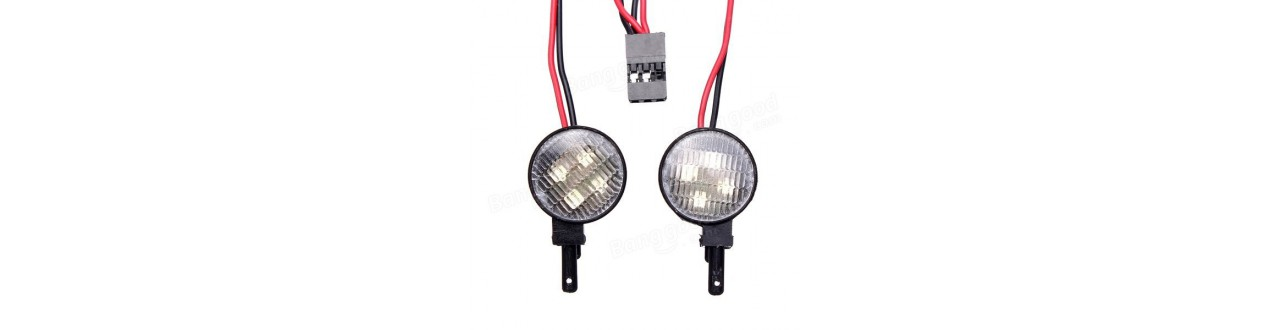 LUCES LED COCHE RC