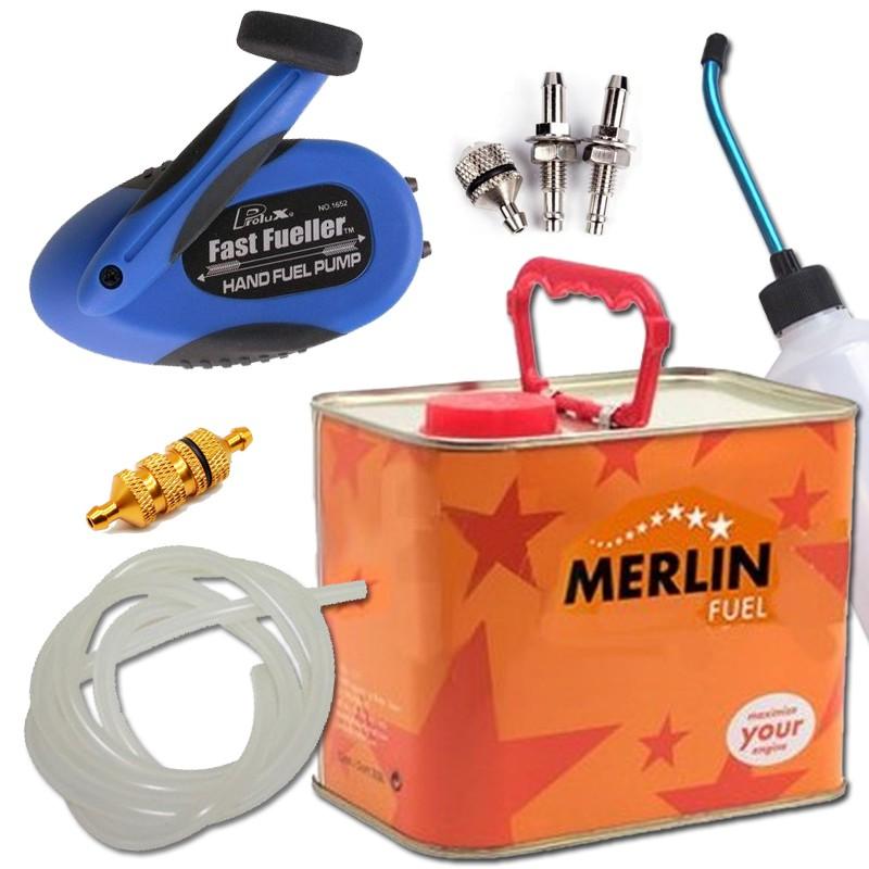 Combustible y accesorios