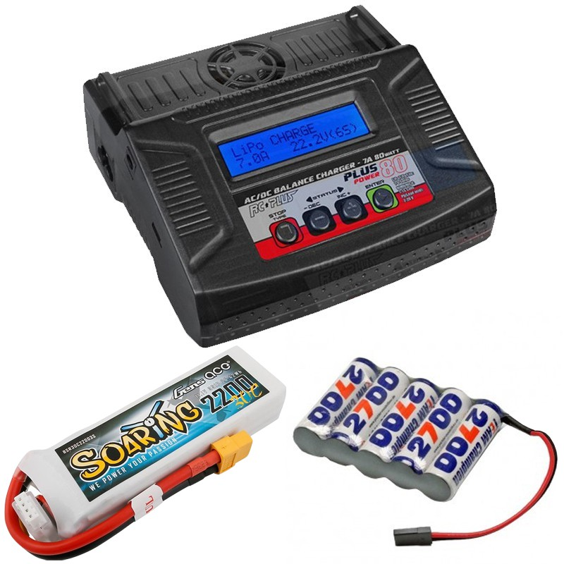 BATTERIES, CHARGERS AND ACCESORIES