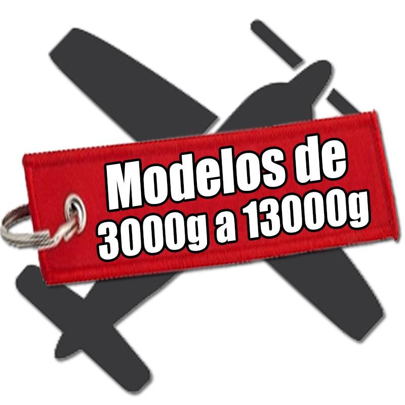 more than 3000g