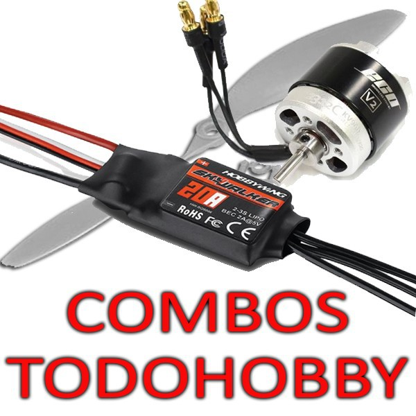 COMBO BRUSHLESS AVION RC TODOHOBBY